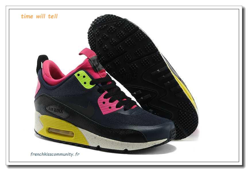 promo code ebe28 0e0fa XLH97 chauds - Nike air max 90 en ligne sneakerboo t ns - noir rose courir  chaussures de sport for fr ...