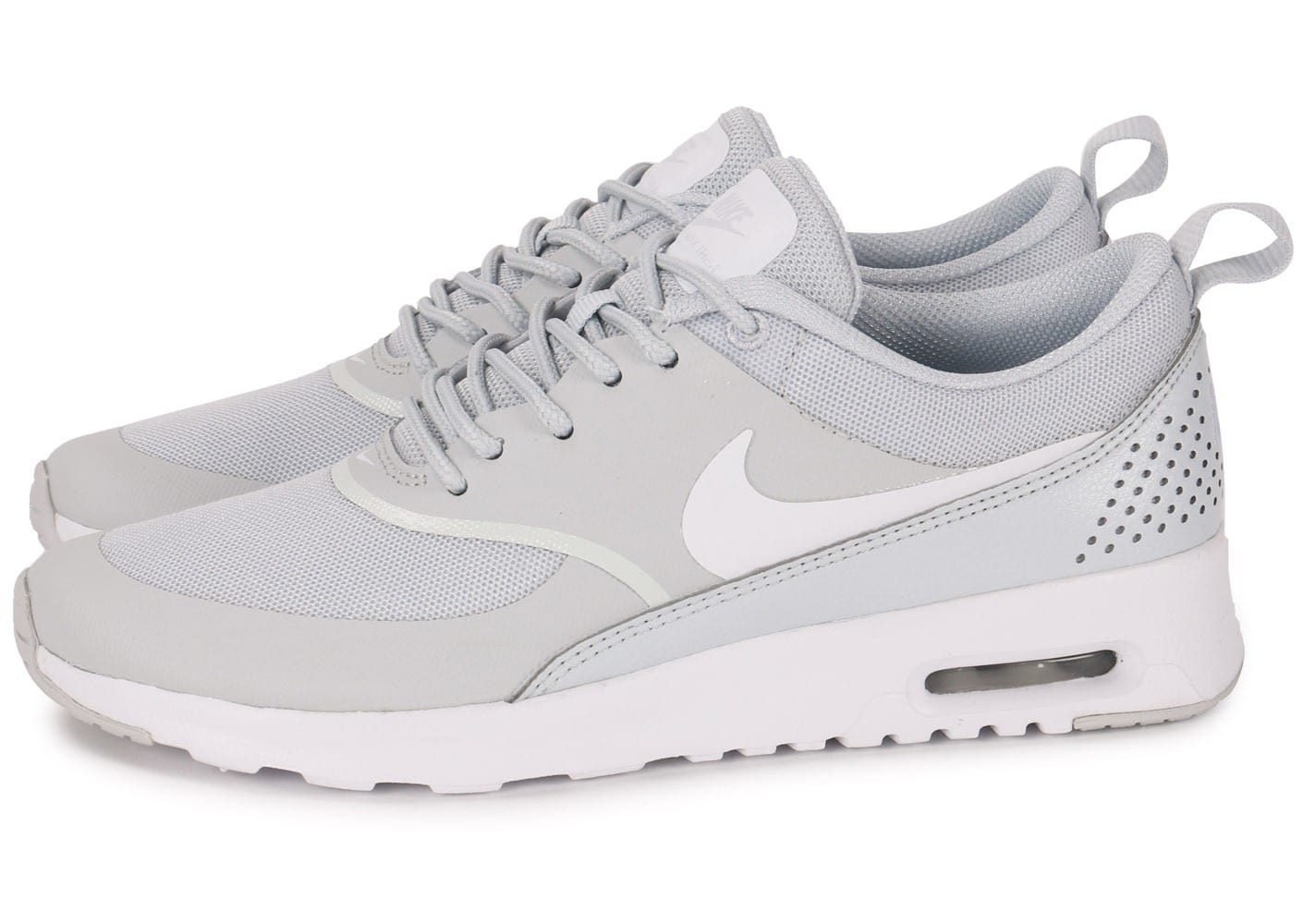 nouveaux styles be254 189eb nike air max thea grise