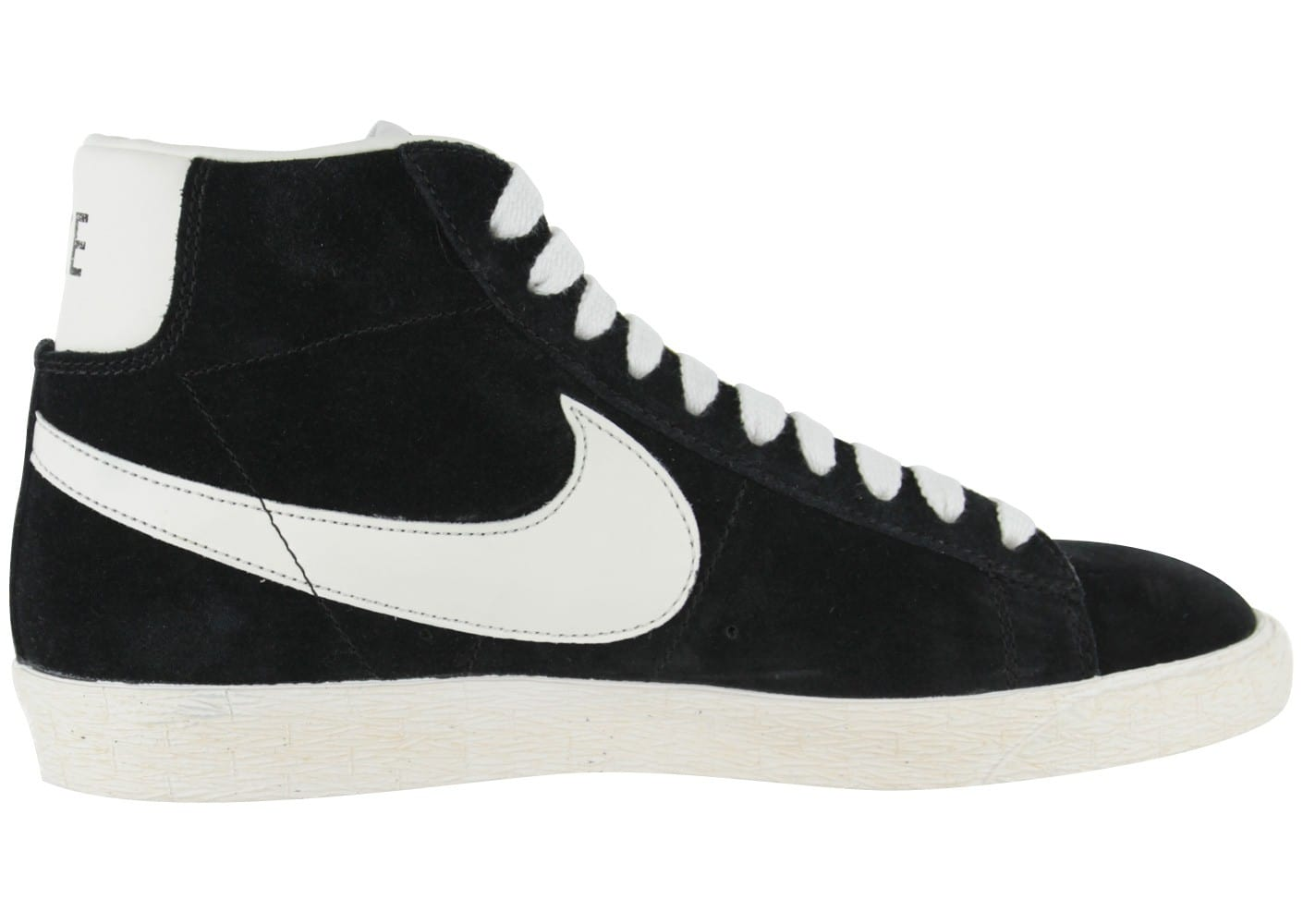 new styles ae3fa fdc12 ... release date nike blazer mid metrique baskets homme 904211 100 nike  homme noir blanc blazer mid