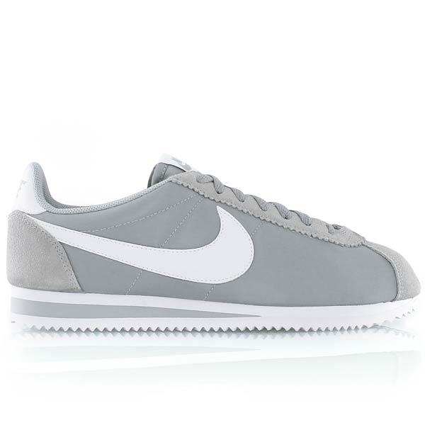 online retailer f8e56 325a0 nike cortez nylon gris