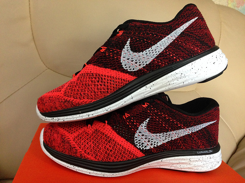 cheap for discount e89f5 a6430 nike flyknit lunar 3 rouge