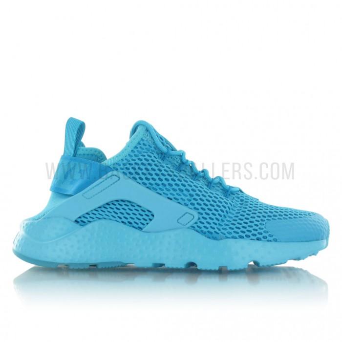 low priced 71eac 2c6fb Nike Air Huarache Run Ultra Bleue Noire 819685 402 Officiel Urh Nike Run  Pour Homme ... Cliquez pour zoomer Chaussures Nike Air Huarache ...