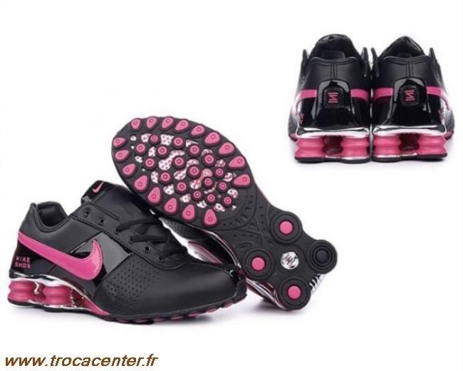 new product 460c7 4b591 Nike Shox TL1 Blanc Rose Noir Nike Shox Nz Blanc Rose Nike 109 Sombre  Chaussures Nike Shox Agent Femme Noir Rose Une Grande Variété De Modèles  2016 New